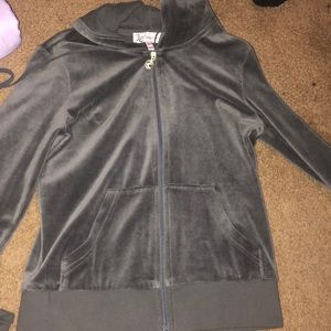 Juicy couture zip up sweater (NEVER WORN BEFORE)